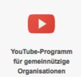 Youtube für NGOs
